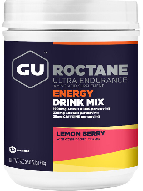 GU Energy Roctane Ultra Endurance Energy Drink Mix Tub 780g, Lemon Berry